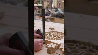 making a wood Lego gear