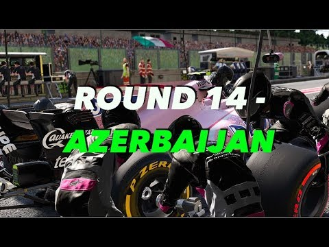 LATE BRAKING ONLINE RACING LEAGUE: ROUND 14 - AZERBAIJAN