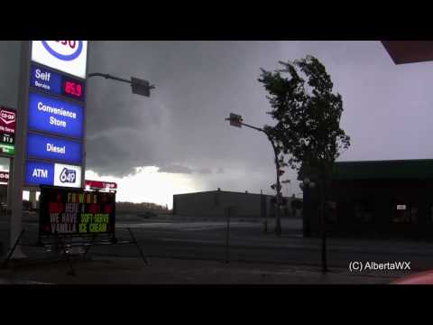 Severe storm June 27 2010: Calmar, Alberta