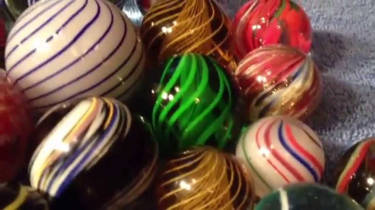 Rare Handmade Antique Vintage Marbles Youtube