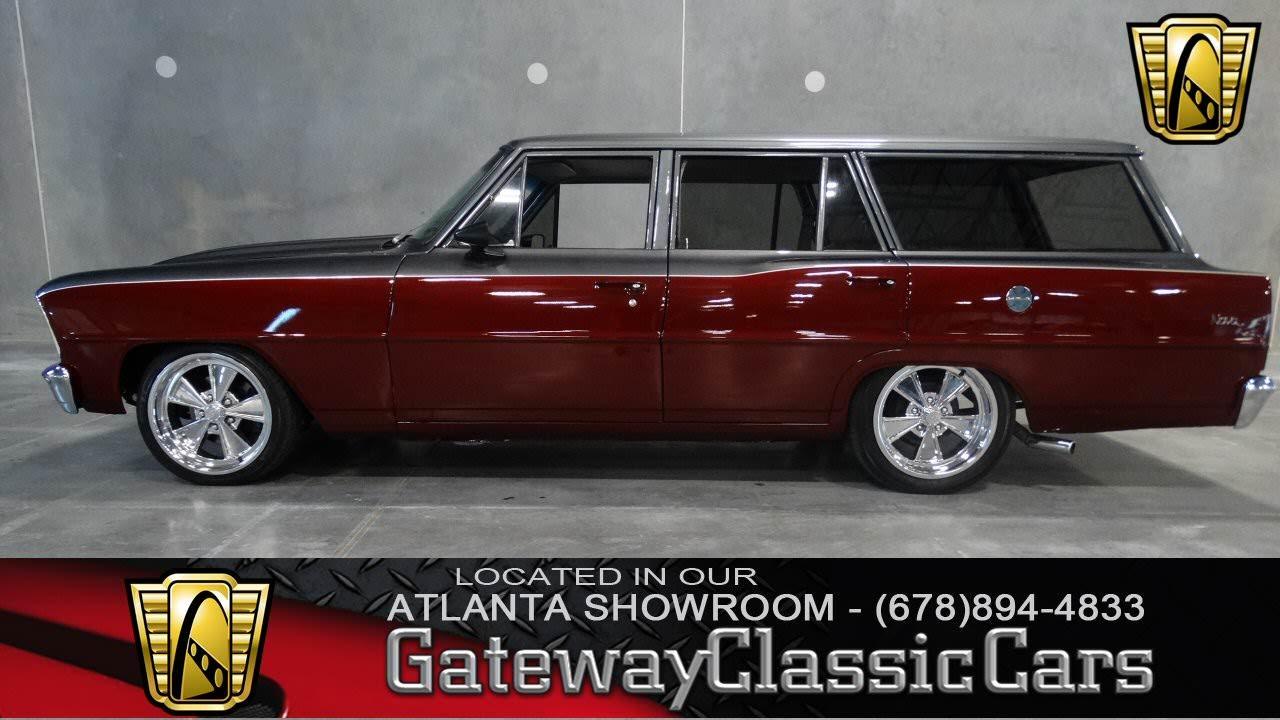 1966 Nova Wagon >> 1966 Chevrolet Chevy Ii Nova Wagon Gateway Classic Cars Of Atlanta