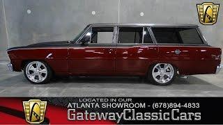 1966 Chevrolet Chevy II Nova Wagon -  Gateway Classic Cars of Atlanta #26