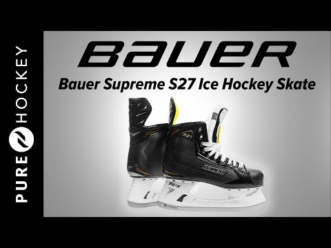 Bauer Supreme S27 Ice Hockey Skate | Product Review