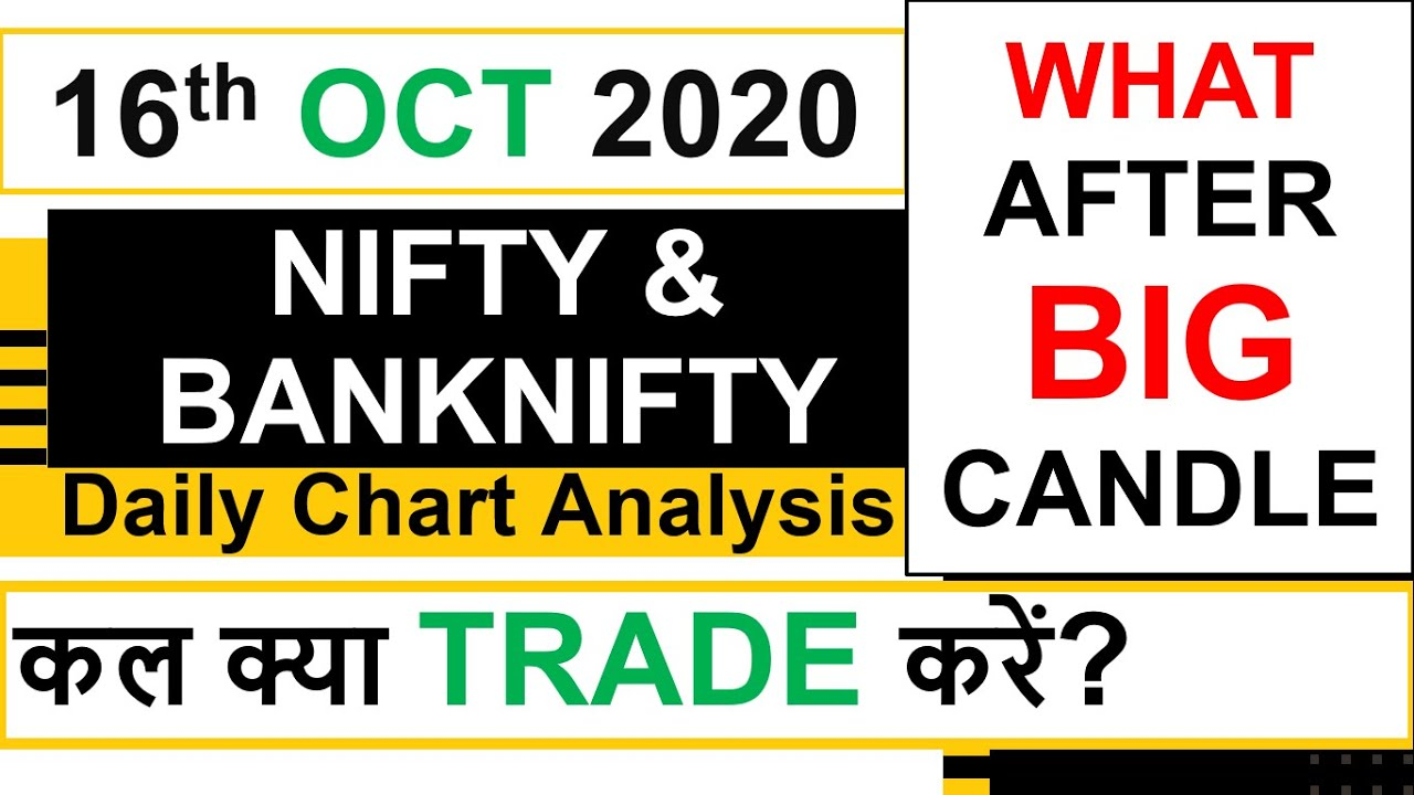 Download Bank Nifty & Nifty tomorrow 15th Oct 2020 Daily Chart Analysis SIMPLE ANALYSIS POWERFUL RESULTS