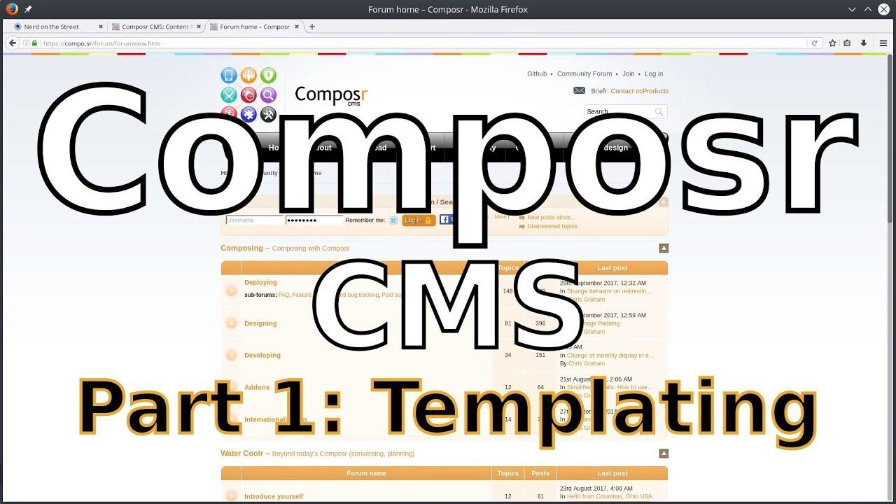 Composr CMS (Part 1: Templating)