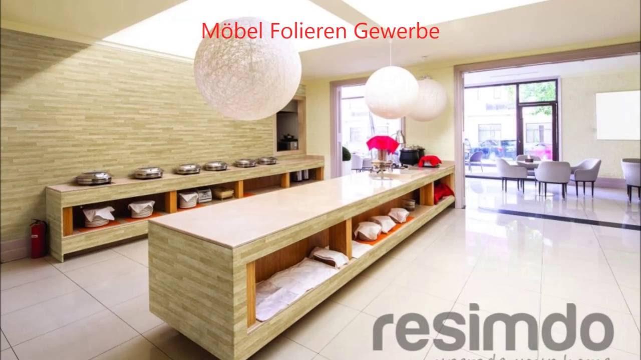 Küchen Möbel Fliesen Folierung - YouTube
