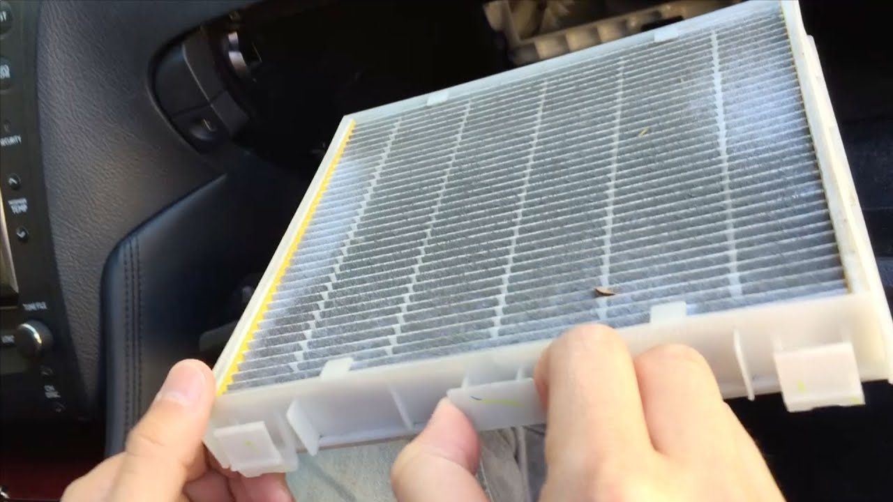 How to change your cabin air filter autos weblog for Change cabin air filter