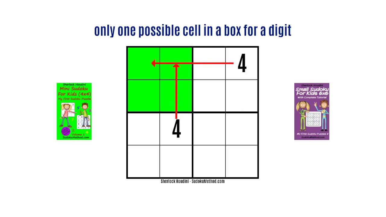 Learn how to play 4x4 Sudoku puzzles (Mini Sudoku for Kids) - Video ...