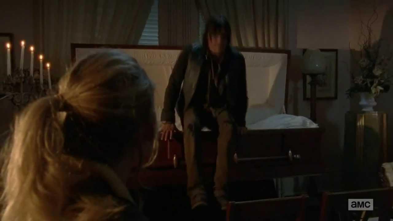 Walking Dead Beth en Daryl hook up