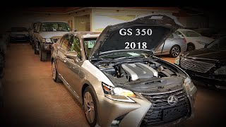 لكزس 2018 جي اس GS350 بسعر ١٩٨ الف ريال