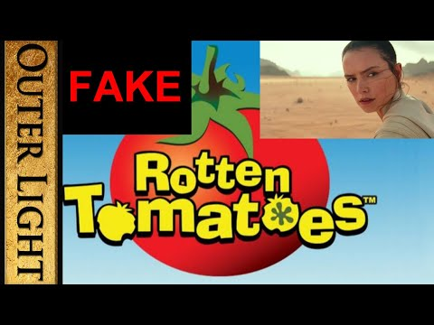 Rotten Tomatoes reviews of Rise of Skywalker are fake