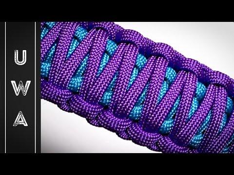 King cobra weave paracord bracelet instructions