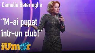 Mihai Bendeac, hărțuit de o concurentă la iUmor! Camelia Beteringhe: M-ai pupat într-un club!