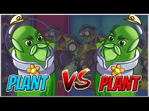 Captain Cucumber vs Captain Cucumber   The League of Legendaries - Plants vs Zombies Heroes Epic MOD