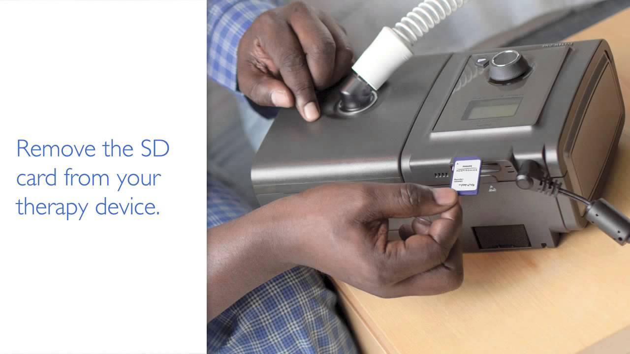 timeless design d11e4 2708e How To Use an SD Data Card with SleepMapper - DirectHomeMedical.com