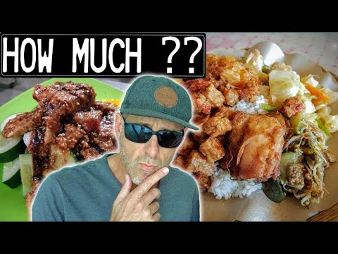 Indonesia - How EXPENSIVE is it to EAT local food?