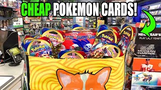 I FILLED UP THIS BAG WITH NOTHING BUT CHEAP POKEMON CARDS AT GAMESTOP! Sword and Shield Pack Opening