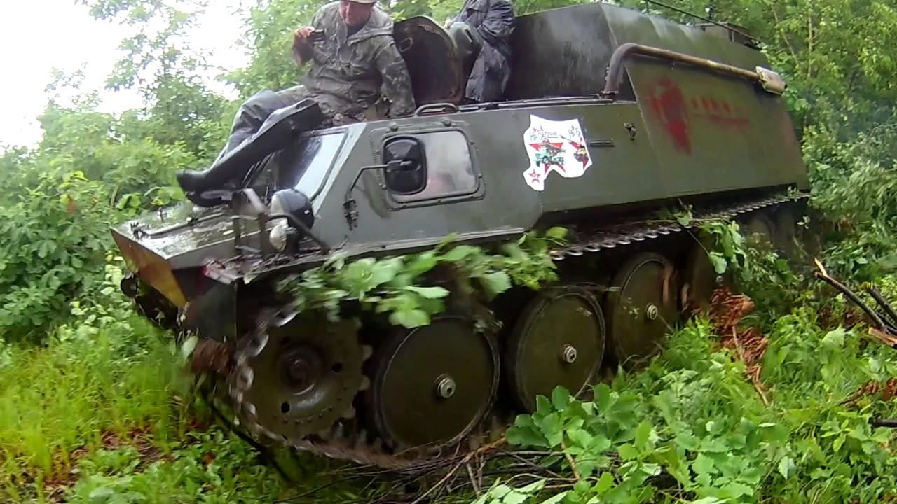 ВЕЗДЕХОДНЫЙ ВЕЗДЕХОД ГАЗ-71, ГТСМ-71. Impassability - YouTube