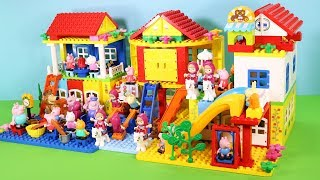Peppa Pig Building Lego House Toys For Kids - Lego House Creations Toys #6