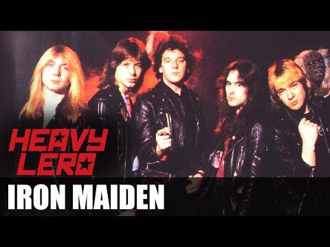 Heavy Lero - IRON MAIDEN (1975 - 1981) - apresentado por Gastão Moreira e Clemente Nascimento