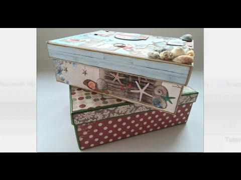 Boxing Days - Create your own storage or gift box