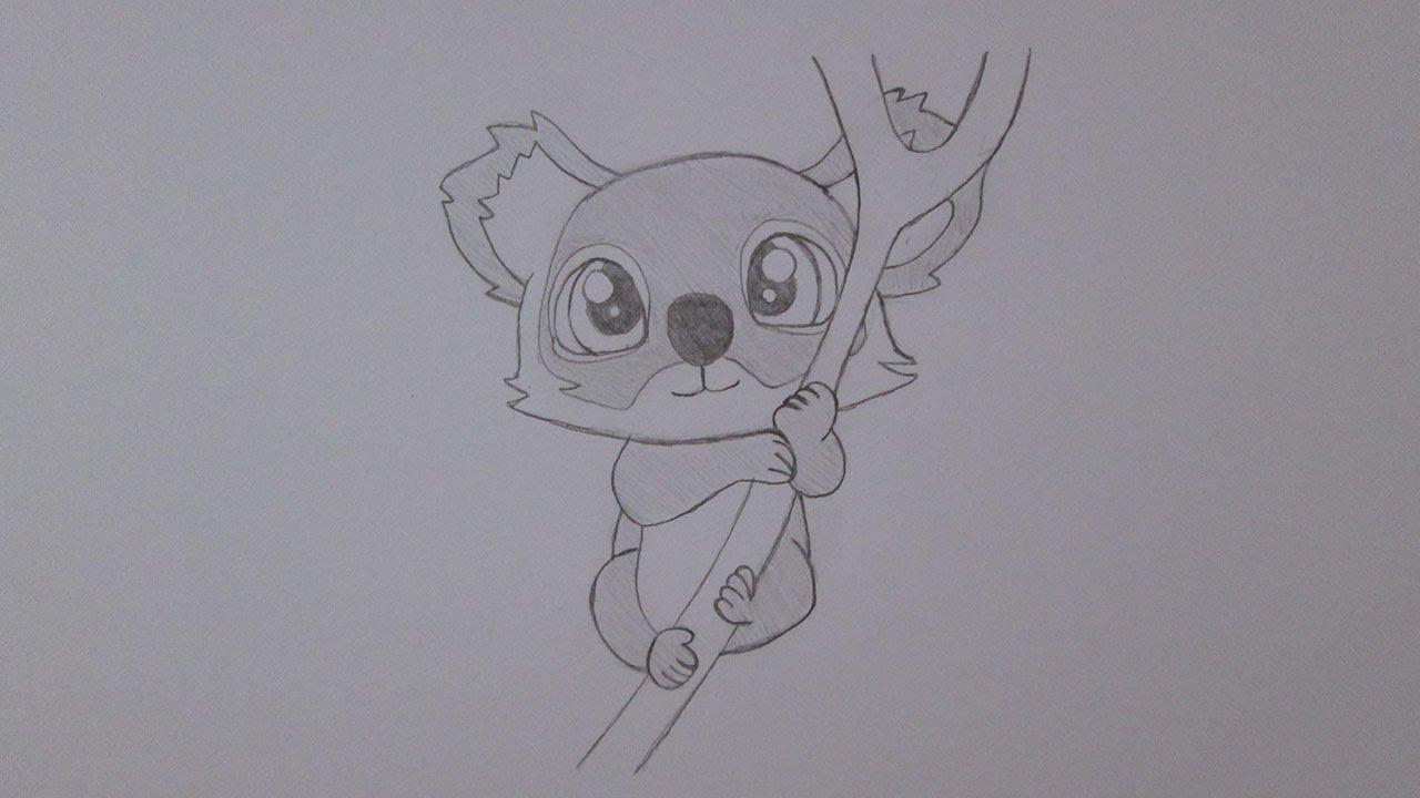 Cmo dibujar un koala  YouTube