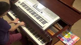 Rene Rodrigezz PH Electro - Born 2 Rock piano & keyboard synth cover by LiveDjFlo