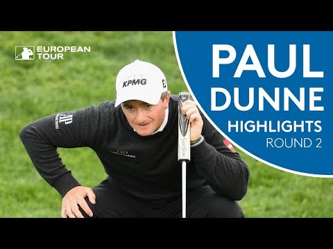 Paul Dunne Highlights | Round 2 | 2018 Open de España