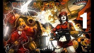 Кооперативное Прохождение Red Alert 3 - 1 серия (HARD)