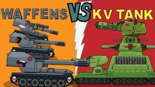 'Summer Battle'  Cartoons about tanks