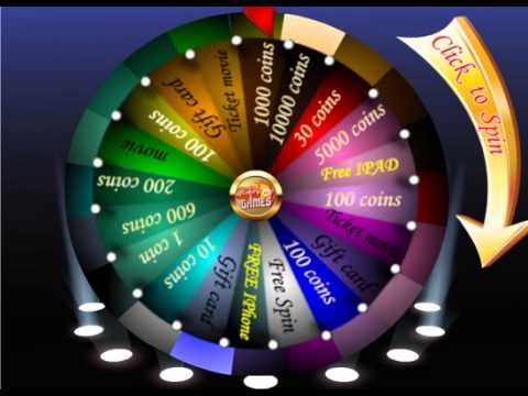 Spin the wheel on Gifts N' Games - YouTube