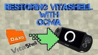 Restoring Vitashell On PS Vita with Enso 3.65 using QCMA