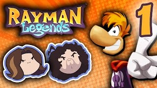 Rayman Legends: This Game Is Delightful - PART 1 - Game Grumps