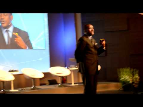 Kandeh Yumkella delivers closing remarks at the Oslo Energy Conference