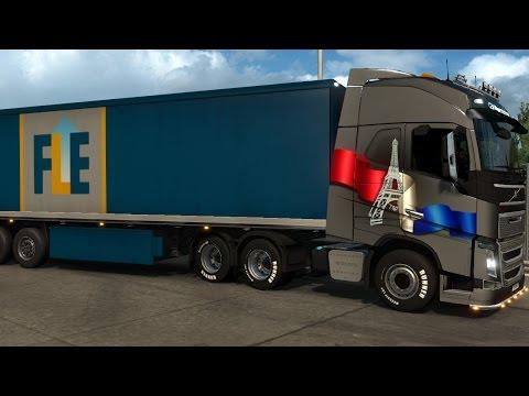 Euro Truck Simulator 2 Vive La France DLC Toulouse-Montpellier |