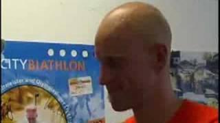 Interview Carl Johan Bergman: City-Biathlon Püttlingen 2007