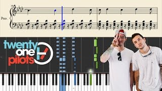 twenty one pilots: Air Catcher - Piano Tutorial + Sheets