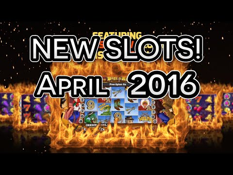Best New Mobile Casino Slots - April 2016