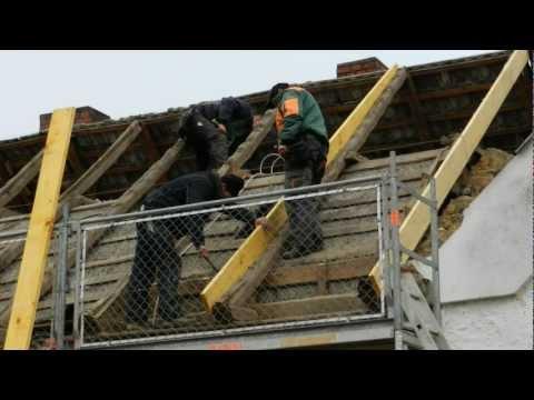 Neues Dach für die 42 (1. Tag)