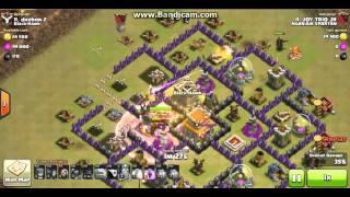 Trik Jitu cara menyerang TH 8 Dengan Gowipe di JAMIN!! 3 Star Clash Of Clans