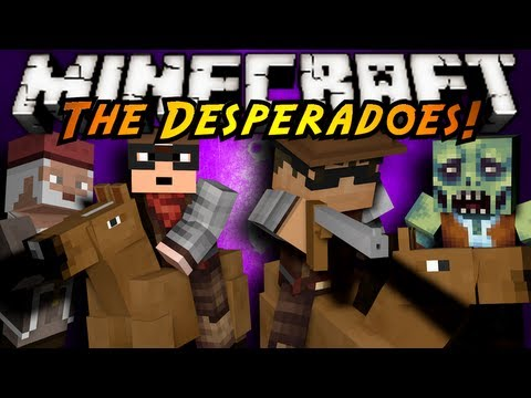 Minecraft MiniGame MODDED COPS N ROBBERS DOCTOR WHO - Minecraft desperado hauser