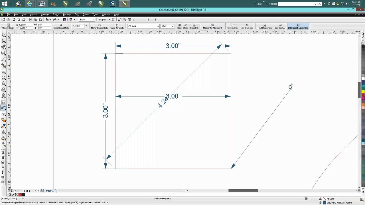 Corel Draw Tips & Tricks Measuring tools