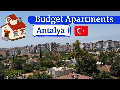 Budget Apartments in Antalya 🇹🇷    Property in Antalya    2+1 Apartment & 4+1 Duplex    VIP Panorama