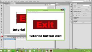 How to Make Button Exit in Adobe Flash