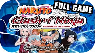 Naruto Clash Of Ninja Revolution - » Full Game « Español