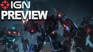 Transformers: Fall of Cybertron - Game Preview