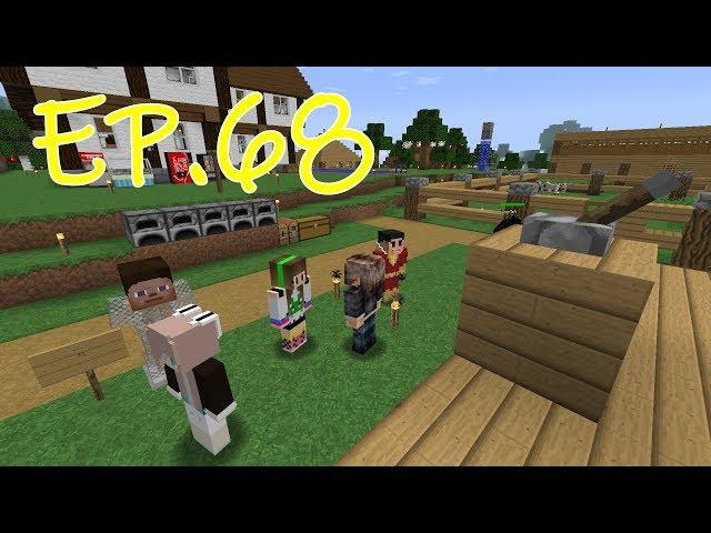 พี่เวฟ-พี่ฝ้าย เอาชีวิตรอด MOD Minecraft EP.68