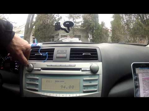 Обзор органов управления TOYOTA CAMRY 6 / Тойота Камри 08 гв