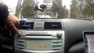 Огляд органів управління TOYOTA CAMRY 6 / Тойота Камрі 08 гв