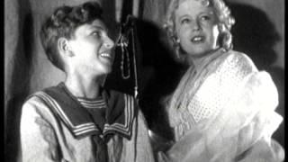 """К. М. Крашенинникова и Ляля Сатеева - Весёлый ветер (OST """"Дети капитана Гранта"""", 1936)"""